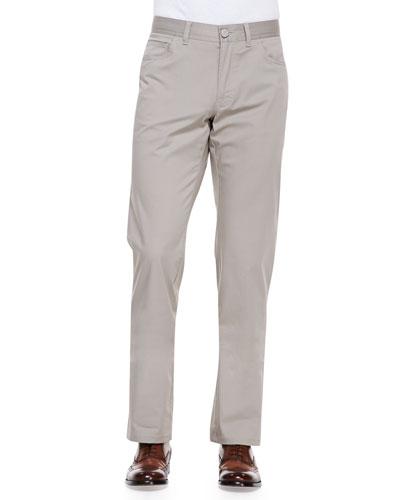 Stelvio Five-Pocket Pants, Beige