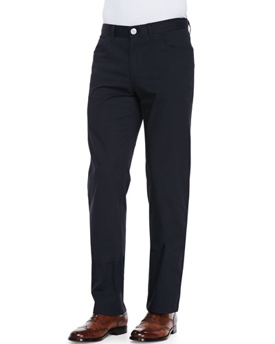 Stelvio 5-Pocket Trousers, Navy