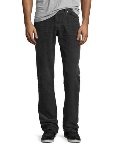 Graduate Corduroy Pants, Dark Gray