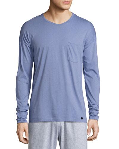 Paolo Long-Sleeve Shirt, Infinity