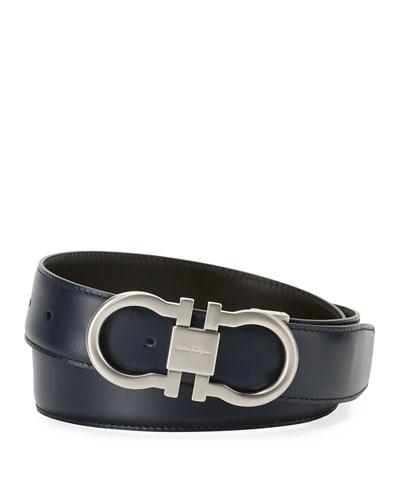 Reversible Double-Gancini Dress Belt