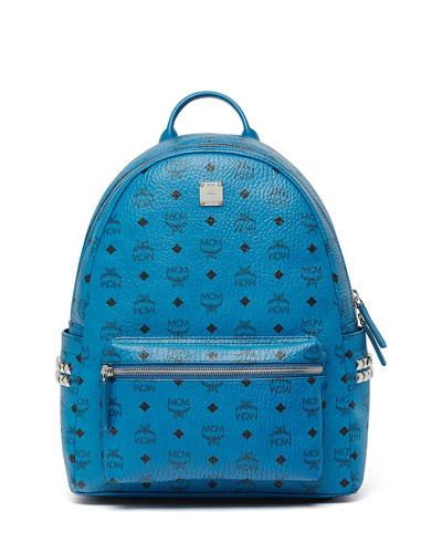 Stark Side Stud Medium Backpack, Munich Blue