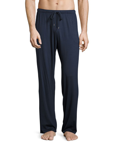 Jersey-Knit Lounge Pants, Navy