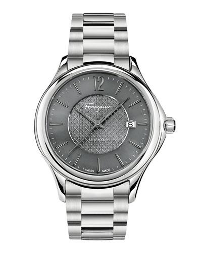 Ferragamo Time 41mm Stainless Steel Watch