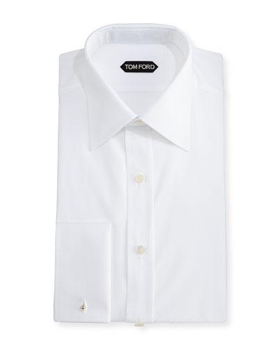 Classic French Dress Shirt, White