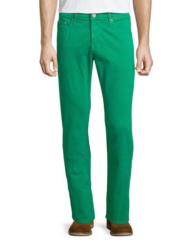 Five-Pocket Sud Jeans, Green