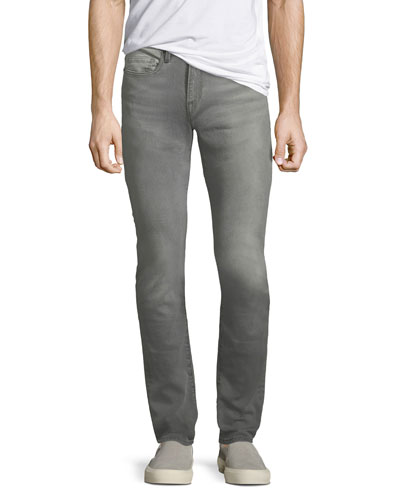 L'Homme Distressed Skinny-Leg Jeans