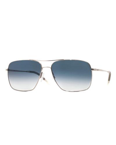 Clifton Photochromic Square Aviator Sunglasses