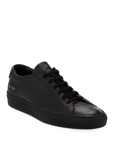 80afc308b2ff4 Men's Achilles Low-Top Sneakers, Black Quick Look. Common Projects
