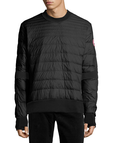 Albanny Quilted Shirt, Black