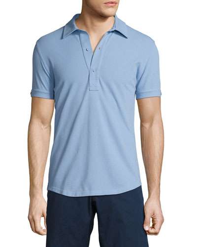 Sebastian Tailored Polo Shirt, Blue