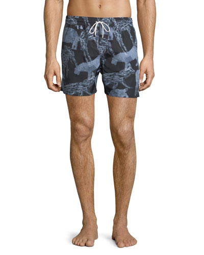 Safari Animals Swim Trunks
