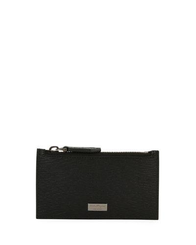 7509099232d Men s Revival Leather Zip-Top Card Case