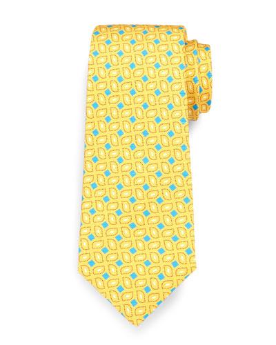 Box Neat Tie, Yellow
