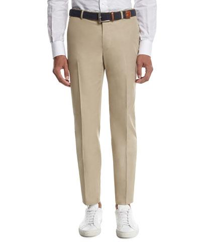 Sanita Cotton Trousers, Khaki