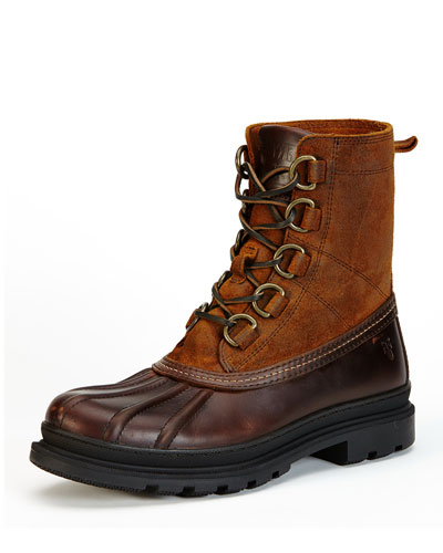 Riley D-Ring Lace-Up Duck Boot