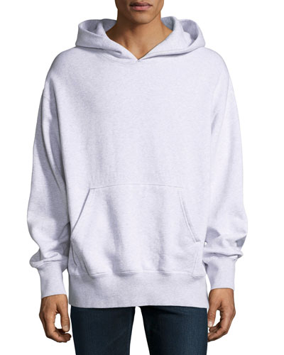 Boxy-Fit Pullover Hoodie