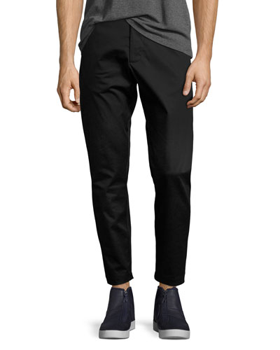 Essentials Stretch-Woven Pants, Black