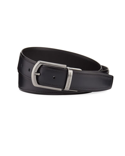 Reversible Calf Leather Belt