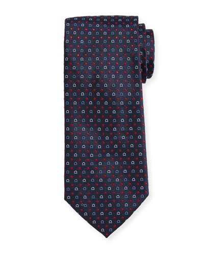 Gancio & Dot Silk Twill Tie