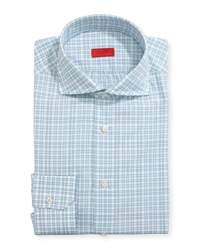 Unconventional Check Dress Shirt