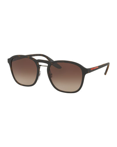 1f378ed6024 Linea Rossa Men s Square Mirrored Sunglasses