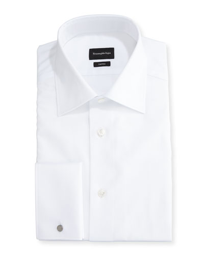 127d23c67f9 Trofeo® Solid French-Cuff Dress Shirt