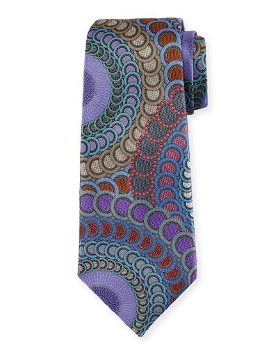Venticinque Circle Medallion Tie