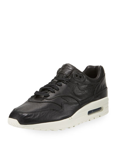Men's Air Max 1 Pinnacle Leather Sneaker, Black