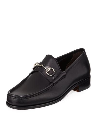 Classic Leather Horsebit Loafer