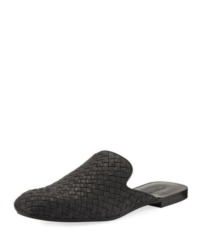 Intrecciato Leather Slipper