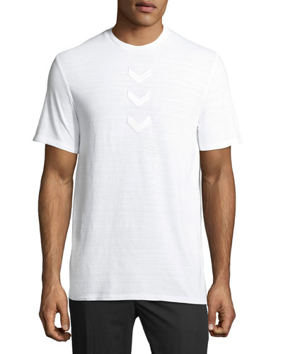 Military Arrow Cotton T-Shirt