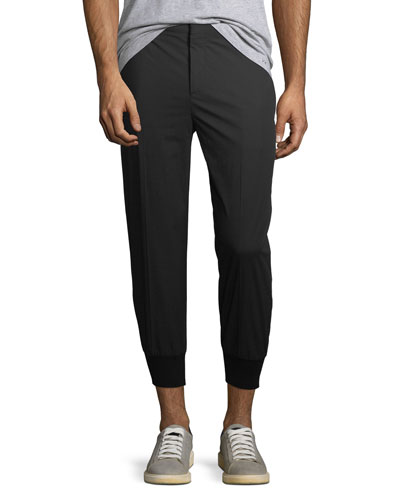 Cropped Trouser Jogger Pants