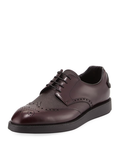 Patent Brogue Oxford, Brown