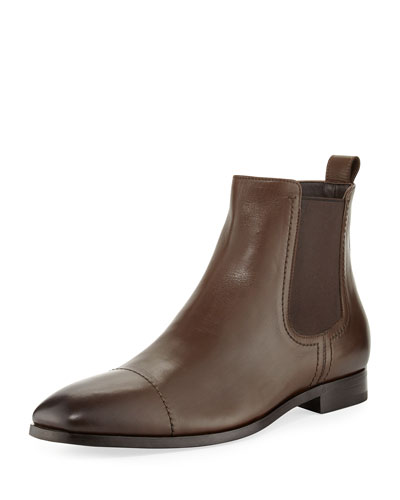 Rodrigo Leather Chelsea Boot, Brown