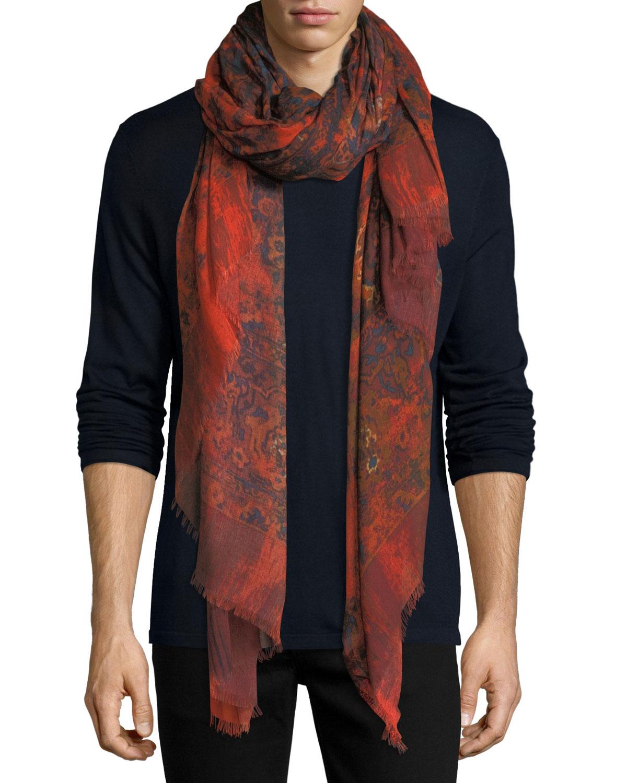 Worn Away Blanket Scarf
