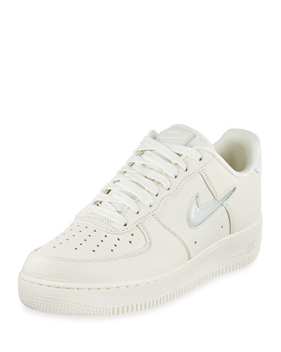 Air Force 1 Retro Leather Sneaker, Light Blue