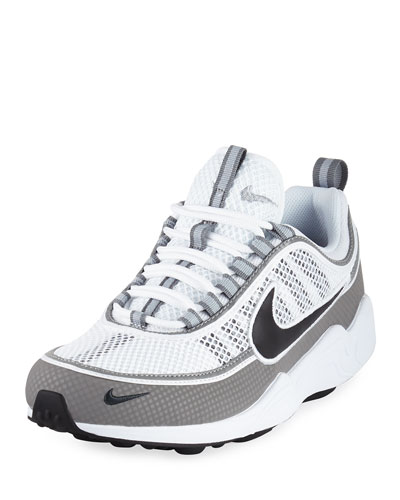 Men's Air Zoom Spiridon Sneaker, White/Black