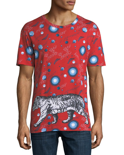 SPACE TIGER TEE