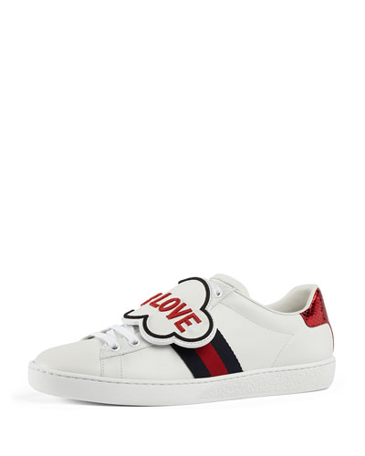 New Ace Sneaker with Removable Embroideries