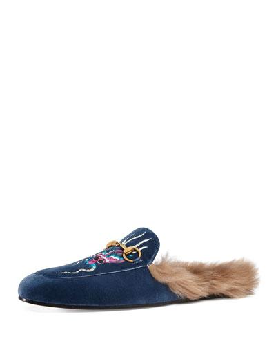 Mens Velvet Shoes