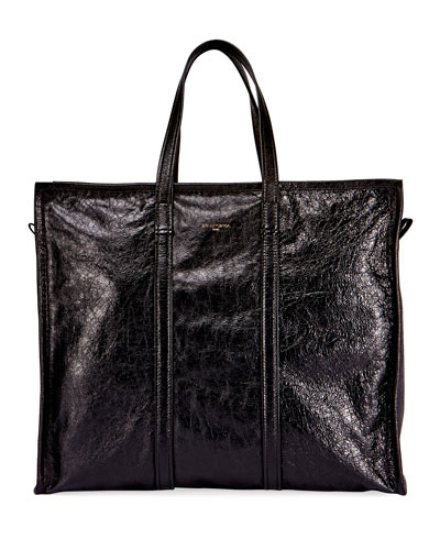 Bazar Leather Large Tote Bag