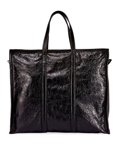Men's Bazar Leather Large Tote Bag