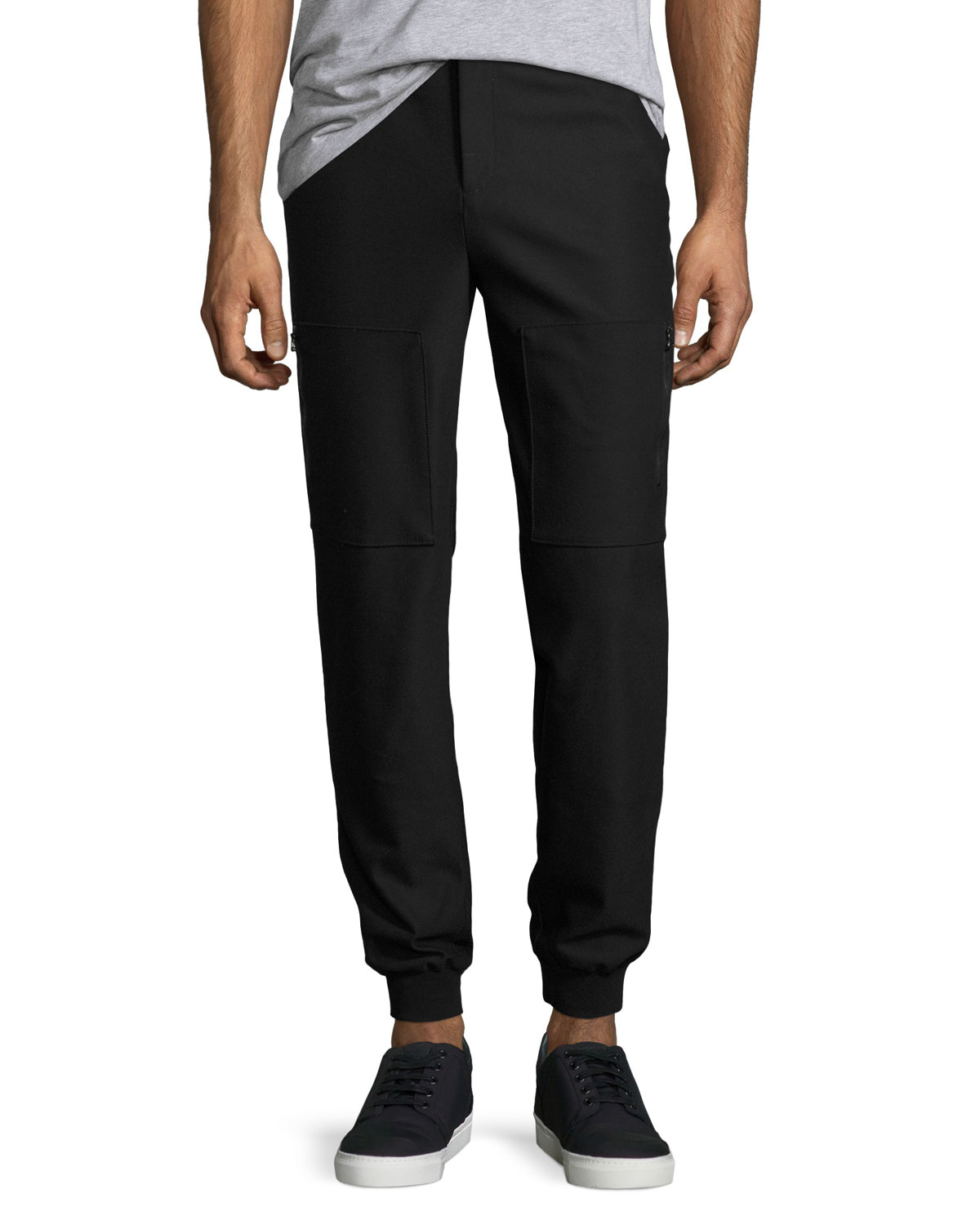 Atm Anthony Thomas Melillo Multi-pocket Relaxed Pants In Black