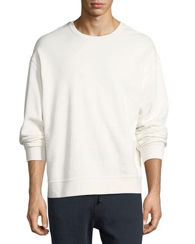 Seamed Crewneck Sweatshirt