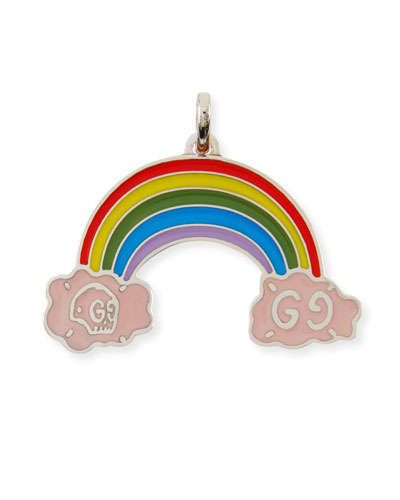 GucciGhost Sterling Silver Rainbow Charm