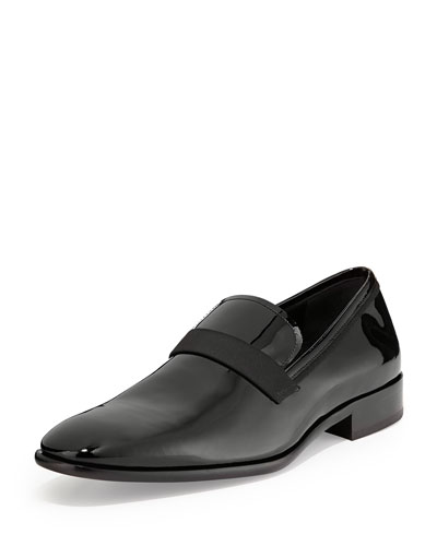 Patent Loafer, Black