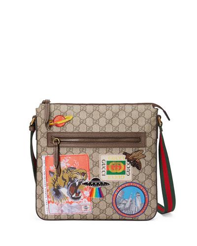 Gucci Courier Soft GG Supreme Messenger Bag