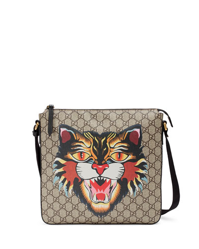 Angry Cat GG Supreme Messenger Bag