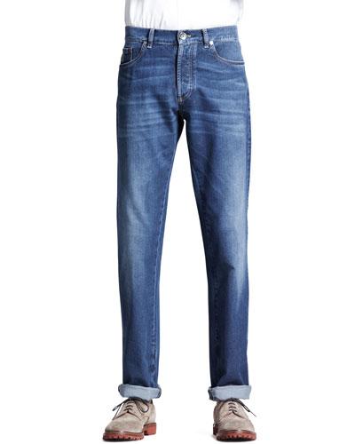 Lightweight Medium Wash Jeans